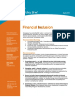 Financial Inclusion Draft