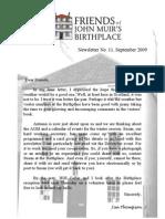 FoJMB Newsletter 2009 09