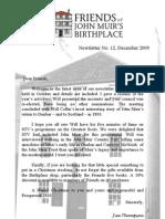 FoJMB Newsletter 2009 12