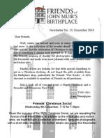 FoJMB Newsletter 2010 12