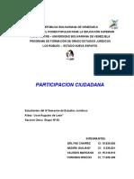 TRABAJO Participacion Ciudadana