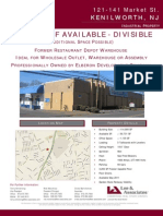 Available- Former Restaurant Depot Warehouse