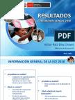 Presentacion Ministro de Educación ECE 2010