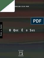 O Que é o SUS - Jairnilson Silva Paim