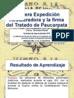 Primera Expedición Restauradora y la firma del Tratado Paucarpata