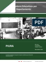 INDICADORES EDUCATIVOS DE PIURA