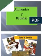 Tipos de Servicios en Alimentos y Bebidas