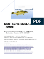 Deutsche Edelfisch GmbH in Berlin