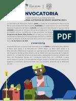 Beca de Apoyo a la Manutención Universidad Nacional Autónoma de México 2022-1