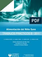 Alimentación del niño sano. Guía  B 2011. Trabajos prácticos