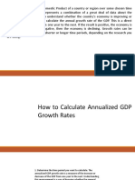 Gdp- How to Compute