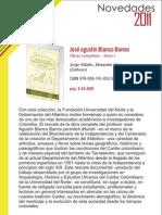 José Agustín Blanco Barros - Obras completas. Tomo I. Barranquilla