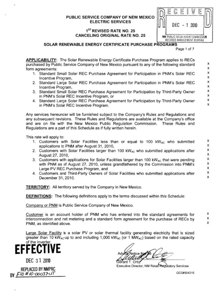 Public service co of nm solar renewable energy certificate public service co of nm solar renewable energy certificate purchase programs kilowatt hour sustainable development xflitez Gallery