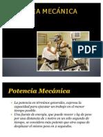 POTENCIA MECÁNICA
