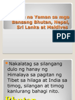 Likas Na Yaman Sa Mga Bansang Bhutan,