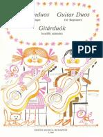 Dúos VVAA Dúos de Guitarra Para Principiantes (Clásico y Antiguo)
