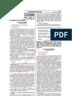 Medidas Complementarias para Ordenamiento Minero de Madre de Dios - Decreto Supremo 016-2011-EM