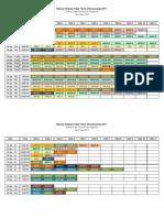 NVTTC2011 - Table Arrangement