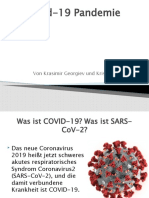 Covid-19 Pandemie