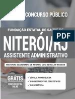 Apostila Fesaúde Assistente Administrativo