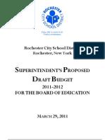 DRAFT Budget Book