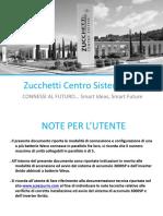 Zucchetti - Pacco Batteria ZCS-Weco HeSu4x4 - Manuale