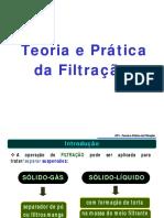 OP1 CapítuloIX Teoria e Prática Da Filtração