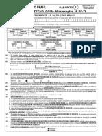 Agente de Tecnologia - Microrregião 16 Df-ti - Gabarito 1