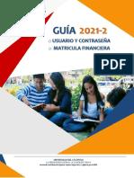 GUIA USUARIO Y CONTRASEÑA 2021-2