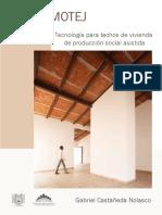 Domotej tecnología para techos de vivienda de producción social asistida