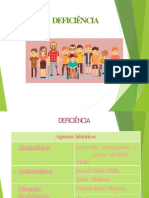 Arquivo PDF - Deficiência