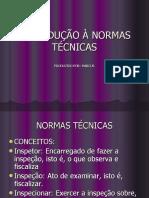INTRODUÇÃO À NORMAS TÉCNICAS