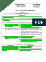 B) Diseño Evaluativo Rúbrica Analítica de Desempeño