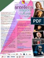 Locandina Stagione Estiva 2021 Pantelleria