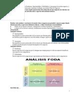 El Diagnóstico FODAun resumen