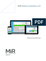 MiR Robot Interface 2.0 Reference guide v.1.8 de