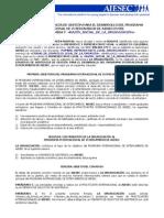 Convenio AIESEC - Organización