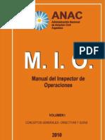 MANUAL DEL INSPECTOR DE OPERACIONES Vol 1c Enmienda 1 Mar-04-2011