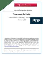 Women and the Media Preliminary Brief