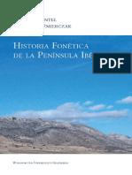 Historia Fonetica de La Peninsula Iberic