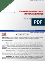 Cont. de Custos - APRESENTACAOMATERIALDIRETO