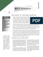 WMLSCA Newsletter for April 2011