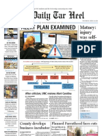 The Daily Tar Heel for April 14, 2011