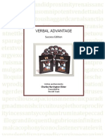 Verbal Advantage Part One Final (Update 090807)