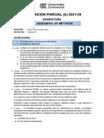 Evaluación Parcial    2021 20