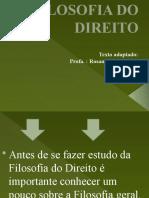 2 - DA FILOSOFIA DO DIREITO