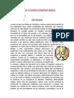 FICHA COMPLEMENTARIA LA CELULA