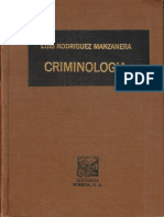 1ro Criminologia Rodriguez Manzanera 27 Edicion 2010