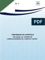 Nota técnica 7 - Convenção do Apostille