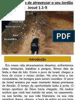 Capítulo 3 atravessando o Jordão